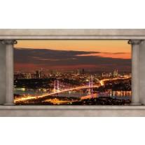 Fotobehang New York | Oranje | 152,5x104cm