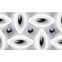Fotobehang Papier Modern | Zwart, Wit | 254x184cm