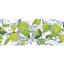 Fotobehang Keuken, Fruit | Groen | 250x104cm