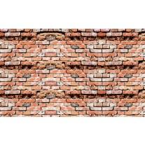 Fotobehang Papier Stenen, Muur | Bruin | 368x254cm
