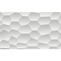 Fotobehang Papier Design | Wit, Grijs | 254x184cm
