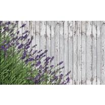 Fotobehang Papier Hout, Lavendel | Grijs | 254x184cm