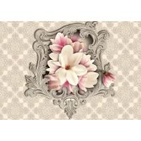 Fotobehang Papier Magnolia, Bloem | Crème | 368x254cm