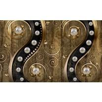 Fotobehang Modern | Zilver, Goud | 152,5x104cm
