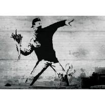 Fotobehang Street Art | Grijs | 152,5x104cm