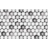 Fotobehang Papier 3D, Modern | Grijs | 254x184cm