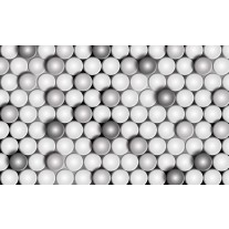 Fotobehang Papier 3D, Modern | Grijs | 368x254cm