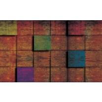 Fotobehang Papier Hout, Landelijk | Bruin | 254x184cm