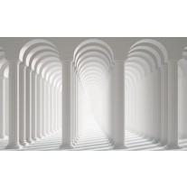 Fotobehang Papier 3D, Modern | Wit | 254x184cm
