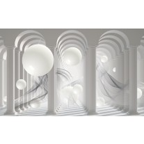 Fotobehang Papier 3D, Modern | Wit | 368x254cm