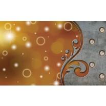 Fotobehang Papier Modern | Bruin, Grijs | 368x254cm