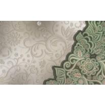 Fotobehang Papier Modern | Groen, Grijs | 254x184cm