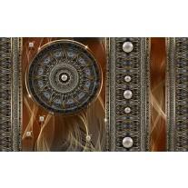 Fotobehang Papier Klassiek | Bruin, Grijs | 254x184cm