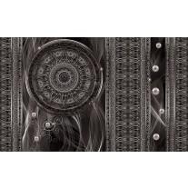 Fotobehang Papier Klassiek | Zilver, Grijs | 254x184cm