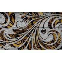 Fotobehang Papier Abstract | Grijs, Bruin | 254x184cm