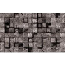 Fotobehang Papier Hout | Grijs | 368x254cm