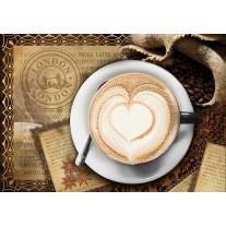 Fotobehang Papier Koffie, Keuken | Bruin | 368x254cm