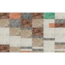 Fotobehang Papier Landelijk | Bruin, Crème | 254x184cm