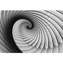 Fotobehang Papier Design, 3D | Grijs | 254x184cm