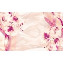 Fotobehang Papier Bloemen, Modern | Paars | 254x184cm