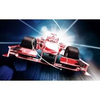 Fotobehang Papier Formule 2 | Rood | 368x254cm
