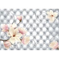Fotobehang Papier Magnolia, Modern | Zilver | 368x254cm