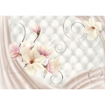 Fotobehang Papier Magnolia, Modern | Roze | 254x184cm