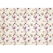 Fotobehang Papier Bloemen, Klassiek | Paars | 254x184cm