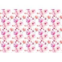 Fotobehang Papier Bloemen, Klassiek | Roze | 254x184cm