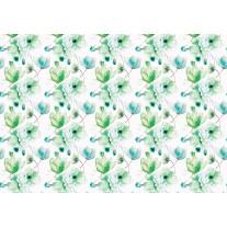 Fotobehang Bloemen, Klassiek | Groen | 152,5x104cm