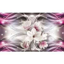 Fotobehang Papier Magnolia, Bloemen | Roze | 368x254cm