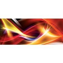 Fotobehang Abstract | Rood, Oranje | 250x104cm