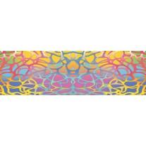 Fotobehang Vlies Abstract | Roze, Blauw | GROOT 832x254cm