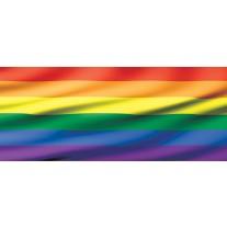 Fotobehang Vlag   Geel, Oranje   250x104cm