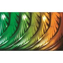 Fotobehang Papier Abstract | Groen | 254x184cm