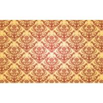Fotobehang Papier Patroon | Geel | 254x184cm