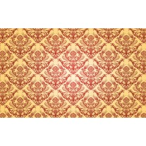 Fotobehang Papier Patroon | Geel | 368x254cm