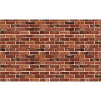 Fotobehang Papier Brick | Rood, Bruin | 254x184cm