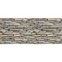 Fotobehang Brick | Grijs | 250x104cm