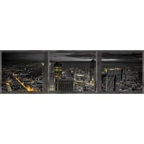 Fotobehang Vlies Stand | Zwart | GROOT 832x254cm