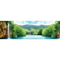 Fotobehang Vlies Natuur   Groen   GROOT 832x254cm