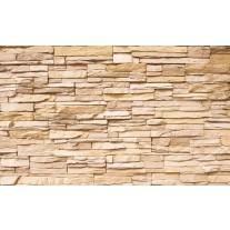 Fotobehang Papier Brick | Crème | 254x184cm