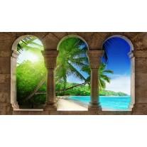 Fotobehang Papier Tropisch | Groen | 254x184cm