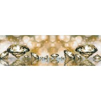 Fotobehang Vlies Design | Goud | GROOT 832x254cm