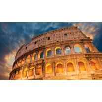 Fotobehang Papier Rome | Oranje | 368x254cm