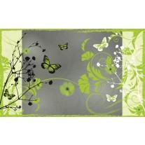 Fotobehang Papier Bloemen | Groen | 368x254cm