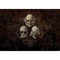 Fotobehang Papier Alchemy Gothic | Bruin | 254x184cm