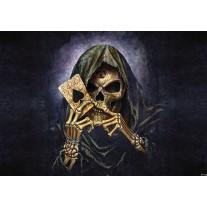 Fotobehang Papier Alchemy Gothic | Zwart | 368x254cm