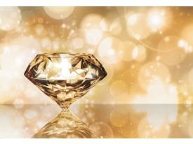 Fotobehang Vlies   3D   Goud, Oranje   368x254cm (bxh)