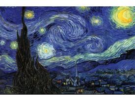 Fotobehang Van Gogh | Blauw | 208x146cm